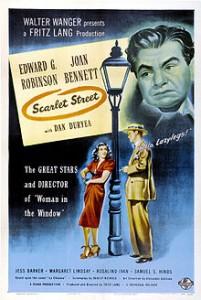 SCARLET STREET (1945) / Edward G Robinson, Joan Bennett, Dan Duryea. Director: Fritz Lang.