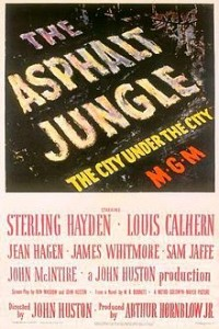 THE ASPHALT JUNGLE (1950) / Sterling Hayden, Sam Jaffe, Jean Hagen, Marc Lawrence, James Whitmore. Director: John Huston.